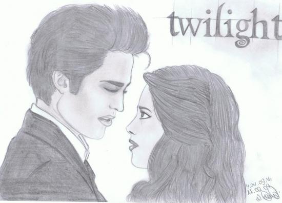 Kristen Stewart, Robert Pattinson by GiveAchill